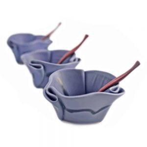Guacamole Bowls ~ shown in Periwinkle