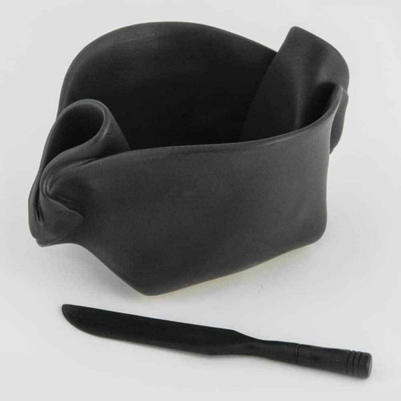 Pinch Pot - shown in Ebony