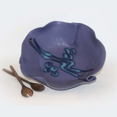Large Salad Bowl ~ shown in Periwinkle