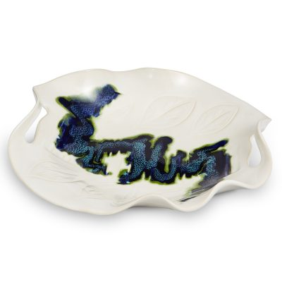 Northern Lights Platter with Cut-Out Handles
